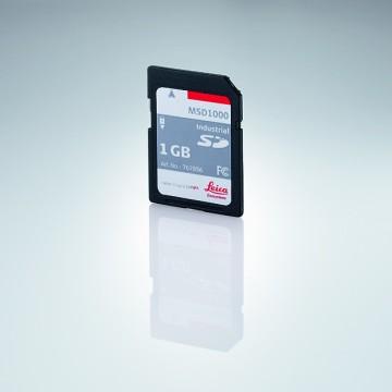 MSD1000, scheda di memoria SD